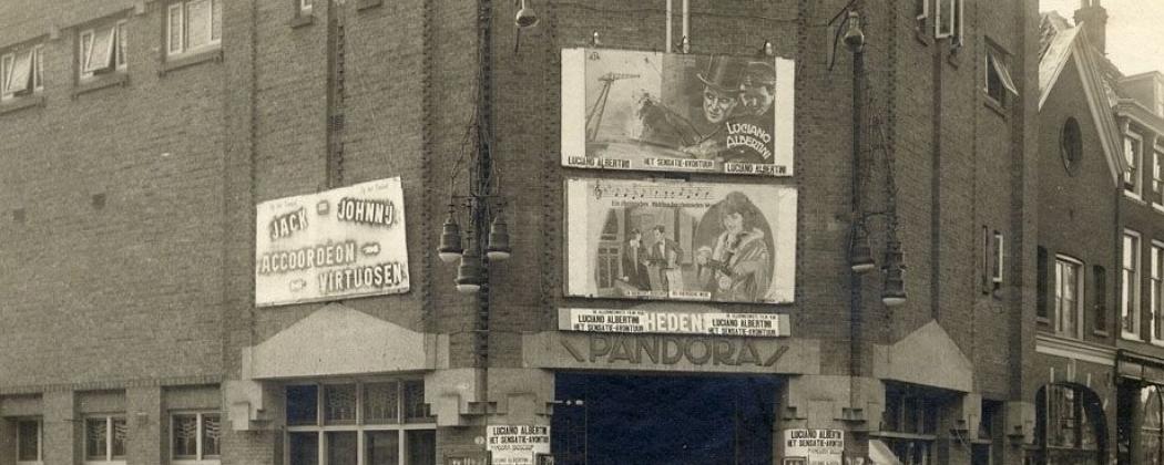 Bijzondere vondst in archief van bioscoop Pandora