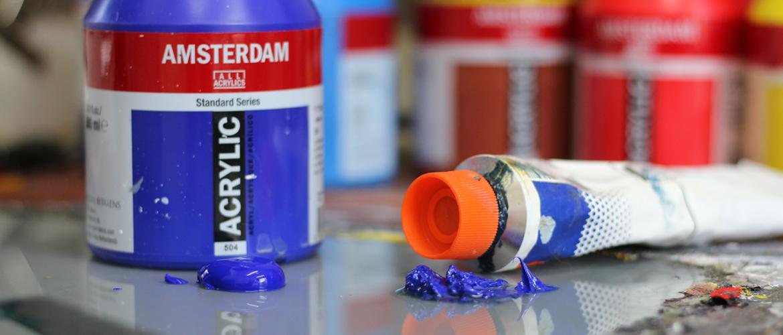 Verschillen tussen olieverf en acrylverf