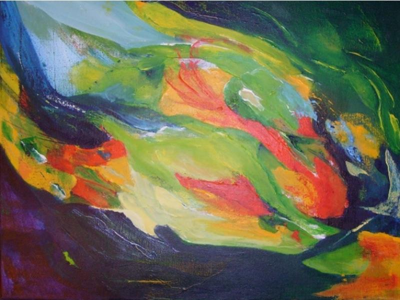 Anja van Dam Schilderijen Hongarije