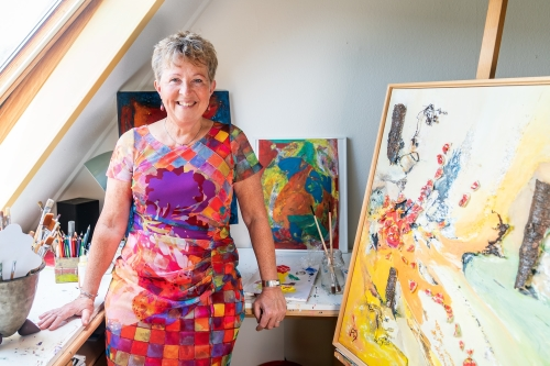 Anja van Dam, beeldend kunstenaar Ede