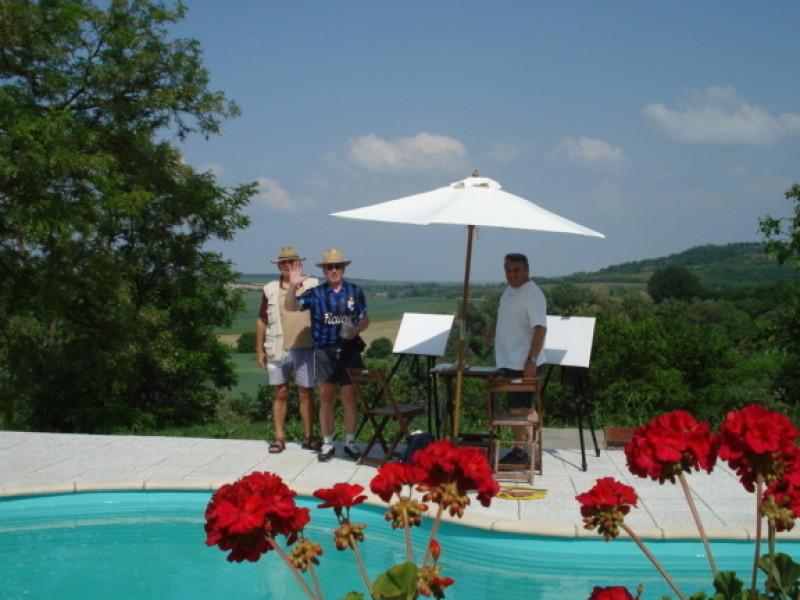 Zwembad relaxen bij Villa Punda van Artventures