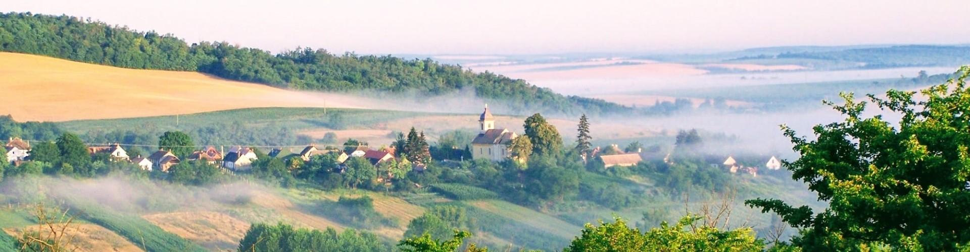 Artventures schildervakantie Hongarije dorp: Somogyacsa in Koppányvölgy natuurpark
