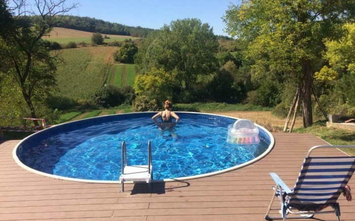 Heerlijk ontspannen in je eigen privé-zwembad in Somogyacsa.