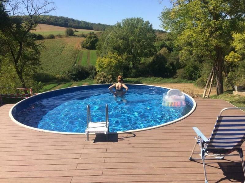 Zwembad bij Artventures 100% prive