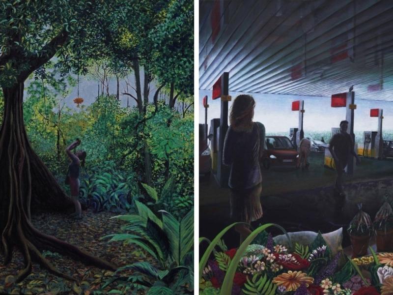 Magda Augusteijn Schilderijen kunstenaar Amsterdam