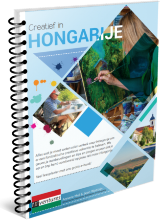 Creatief in Hongarije e-book cover