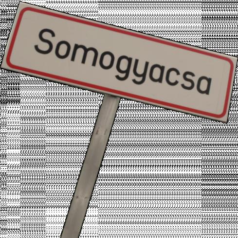 Somogyacsa plaatsnaambord