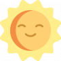 Landklimaat 2200 zonne-uren per jaar tijdens je schildervakantie