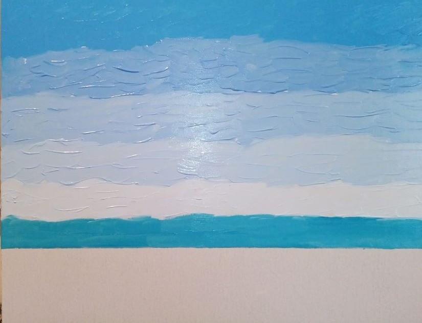 Het bepalen van de horizon en het opzetten van de lucht