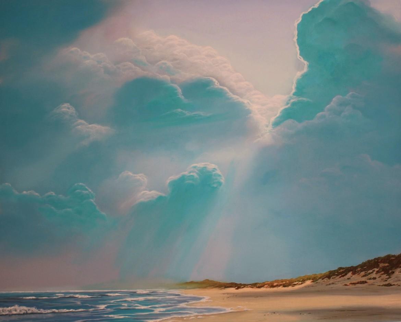 bewolkte-zee-met-strand