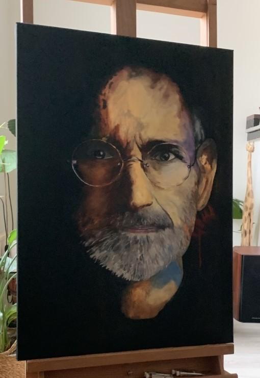 portret-steve-jobs