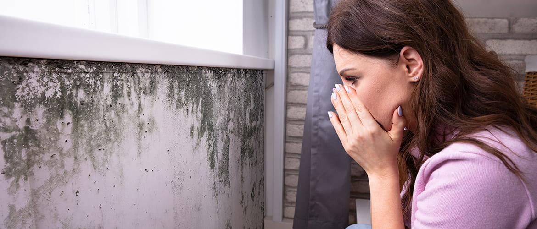 Klachten die ontstaan door schimmel in huis