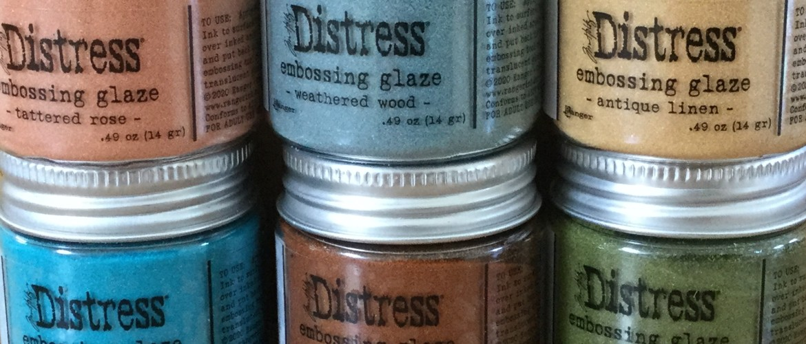 Over Distress Embossing Glaze