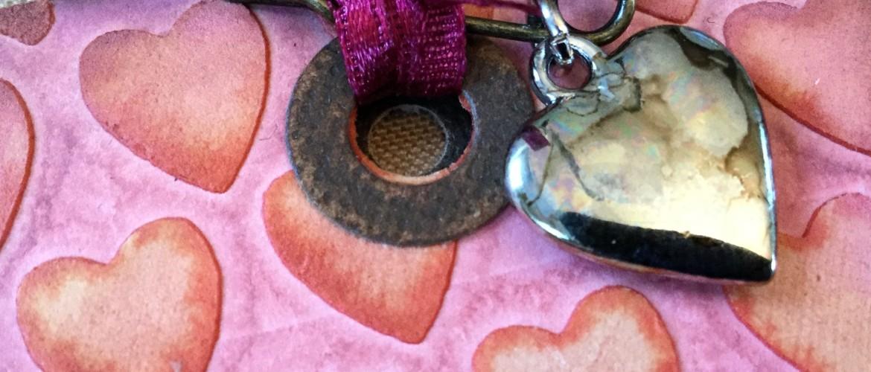 Valentijn met Oxide inkt