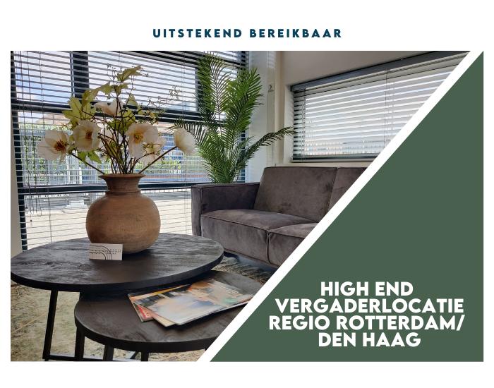 High end vergaderlocatie regio Rotterdam/Den Haag