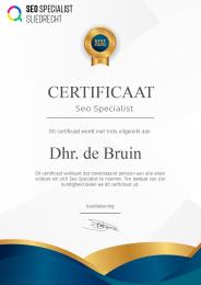 Diploma Seo Specialist - Seo Specialist Opleiding