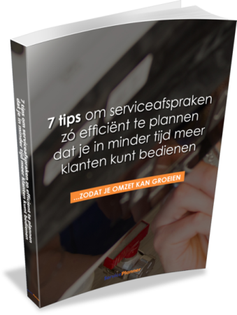 E-Book 7 tips ServicePlanner