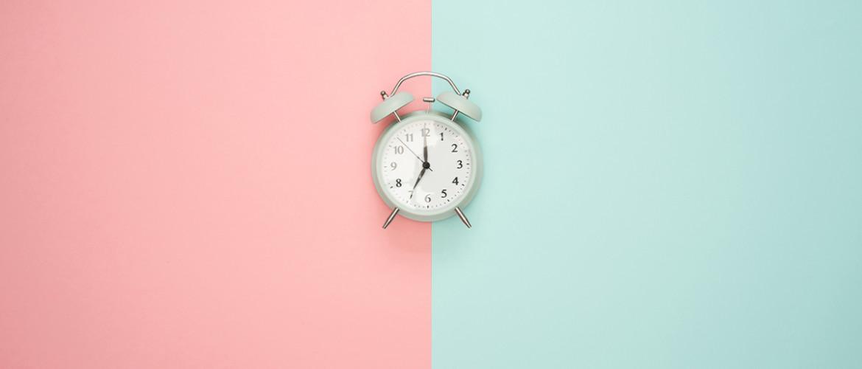 Relax, je hebt genoeg tijd (plan nu mét reistijd)