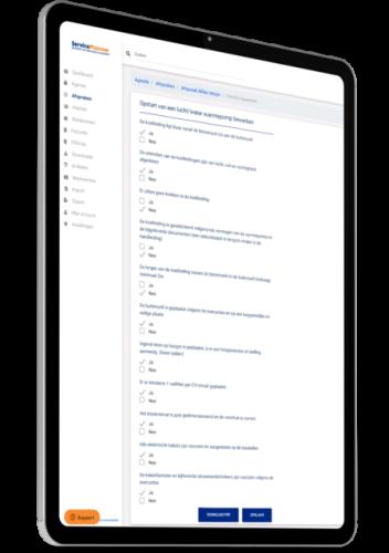 Checklist Installateur