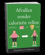 e-book afvallen zonder calorieën tellen