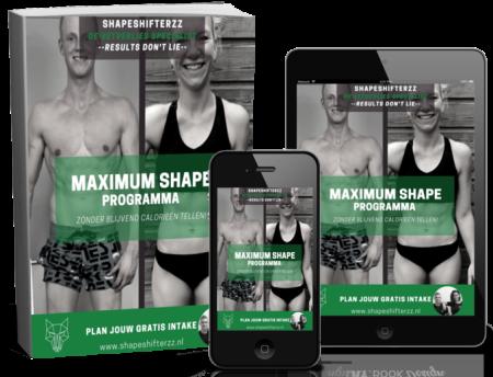 resultaten shapeshifterzz maximum shape 1 op 1 coaching