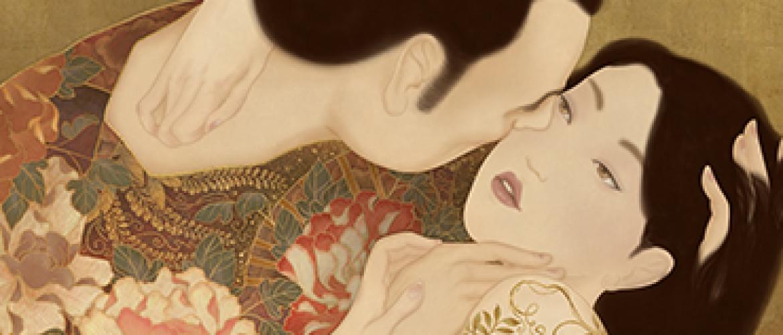 Senju Shunga Revisits His Poetic Homage to Gustav Klimt