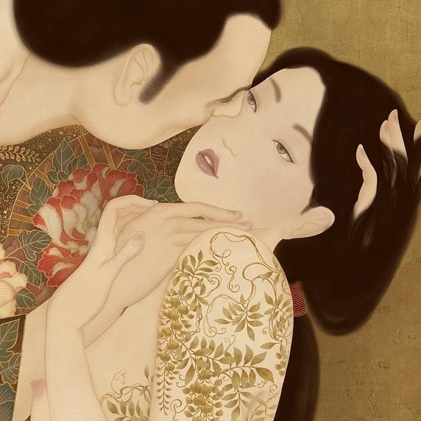 Kuchidzuke revisited Senju Shunga