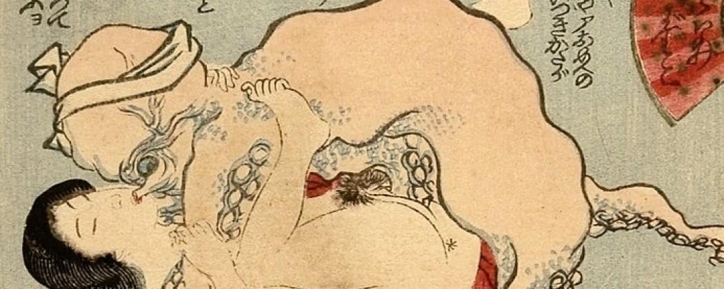 Kunisada II's Amusing Octopus Fantasy