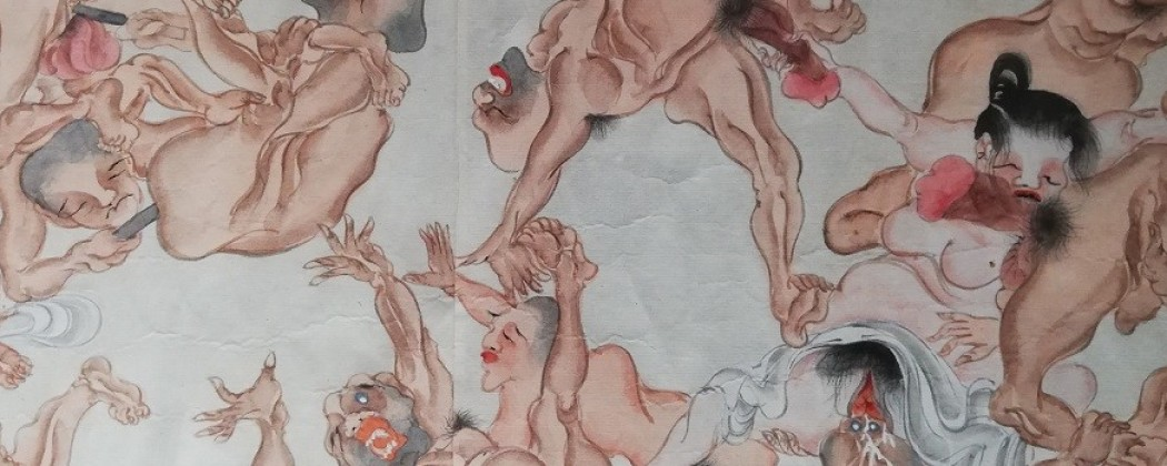 Insane Erotic Bacchanal Depicting Gay and Straight Buddhist Monks