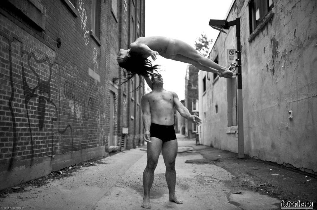 Acey Harper acrobatics