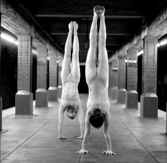 Acey Harper two acrobats