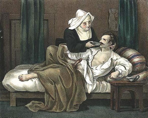 achille deveria horny patient