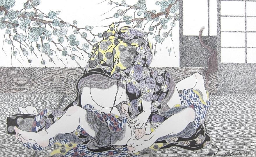 Aiko Robinson watercolour