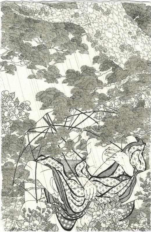 Aiko Robinson woodblock prints