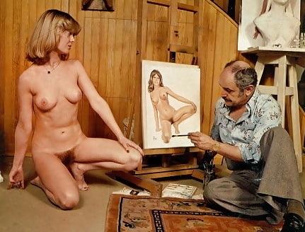 Alain Aslan and nude model
