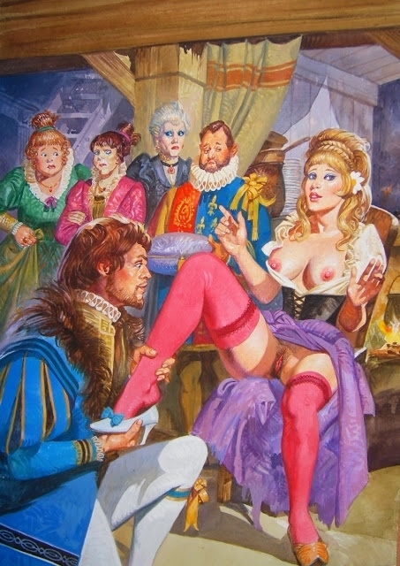 Alessandro Biffignandi erotic fairytale
