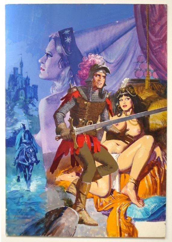 Alessandro Biffignandi erotic knight