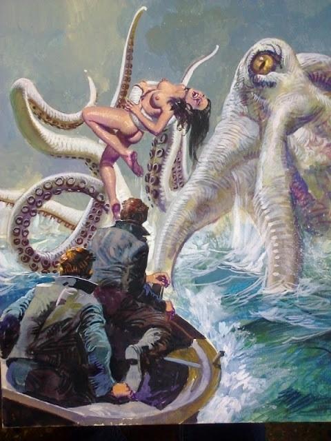 Alessandro Biffignandi giant octopus