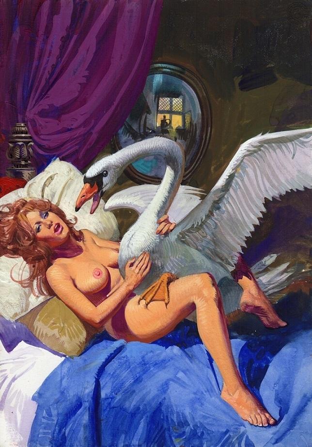 Alessandro Biffignandi Leda and the Swan
