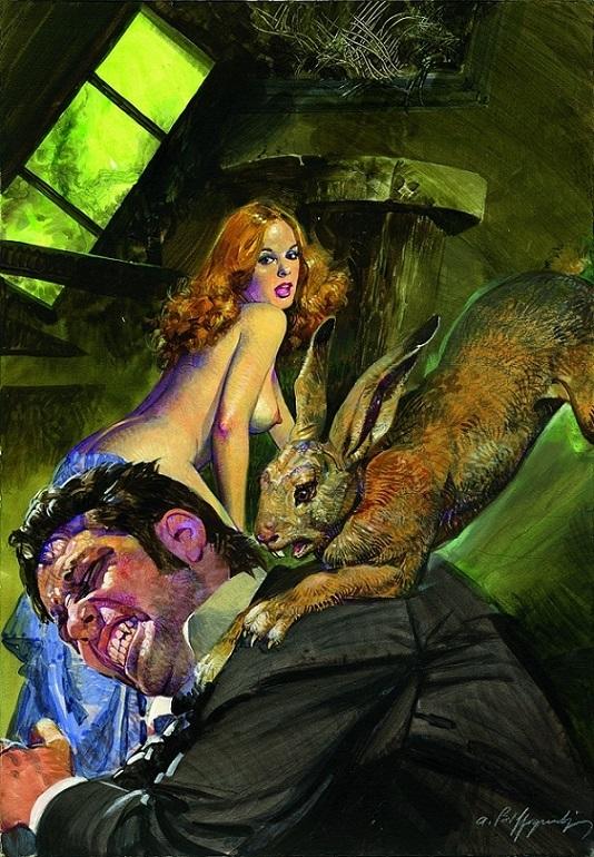 Alessandro Biffignandi rabbit attack