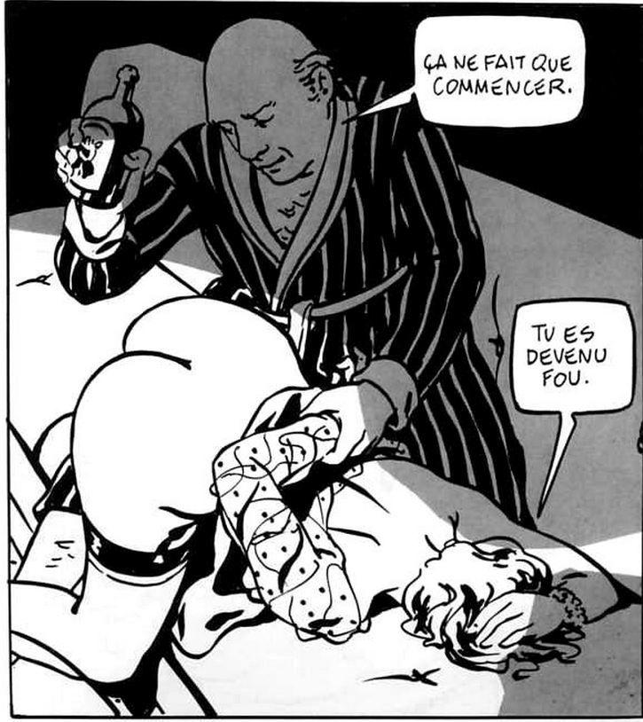Alex Varenne bdsm comic