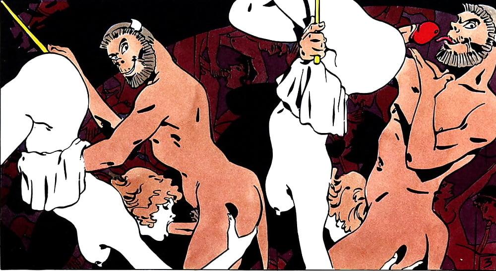 alex varenne erotic comic book