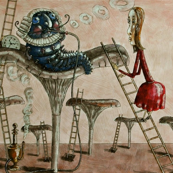 alice's adventures in wonderland dmitry trubin