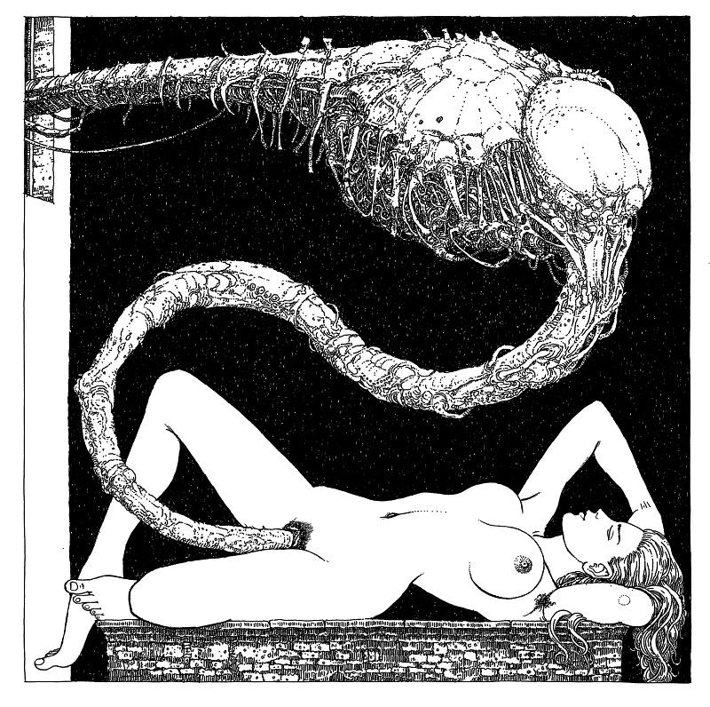 alien sex Michael Hutter