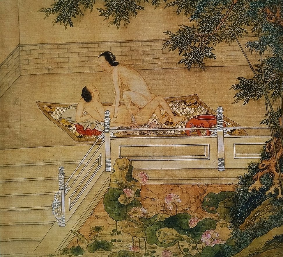 ancient Chinese erotic painting