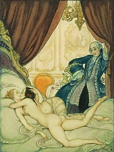 andre lambert Casanova and lesbians
