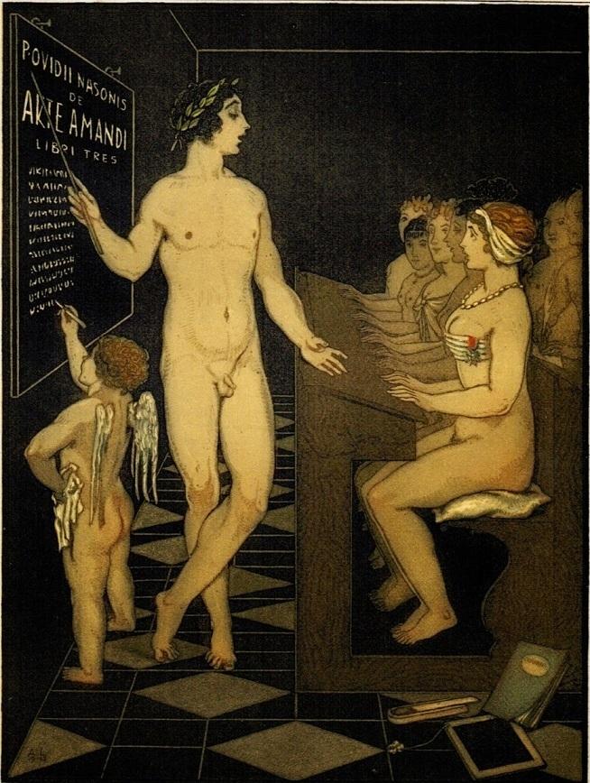 andre lambert Ovid teaches beautiful maidens