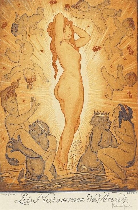 andre lambert The Birth of Venus