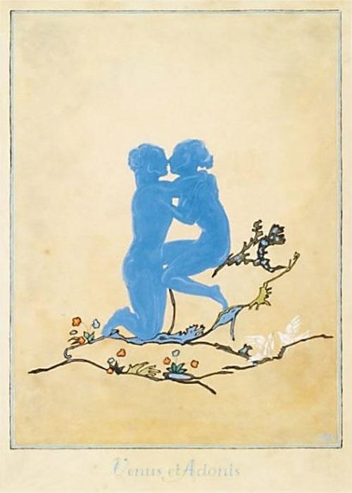andre lambert Venus and Adonis