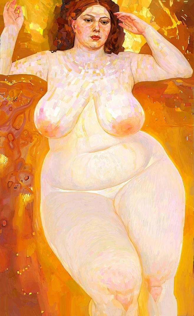 Andrey Surnov Klimt nude